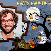 Happy Haunting Photo Card