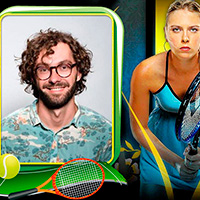 Sharapova photo cards