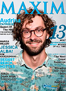 Maxim Magazine Cover