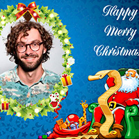 Happy Merry Cristmas Card