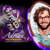 Free Adrian Peterson Card